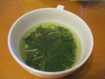 200706空芯菜とオクラのスープ