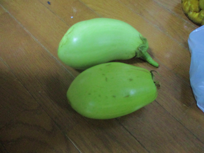 200711緑なす初収穫