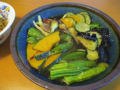 200718夏野菜の揚げ浸し