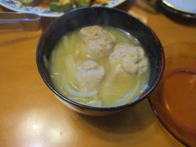 200719トビウオ団子の味噌汁
