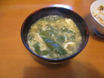 200723空芯菜のスープ