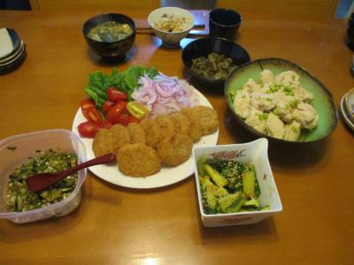 200723夕食
