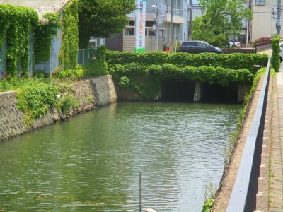 200605うべや橋(暗渠)付近の堀河