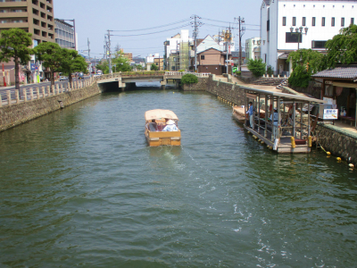 200605カラコロ広場の堀川遊覧