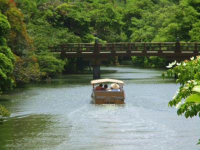 200605稲荷橋から見る堀川遊覧