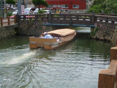 200605普門院橋を通過する堀川遊覧
