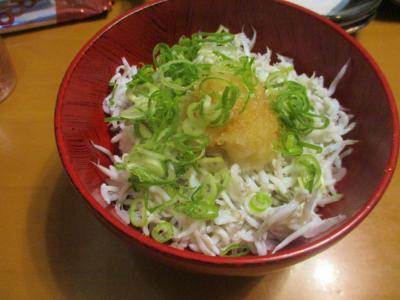 200913しらす丼
