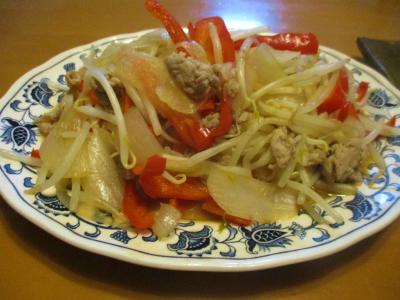 200913野菜炒め