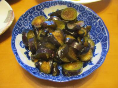 200916ナスの柚子胡椒和え