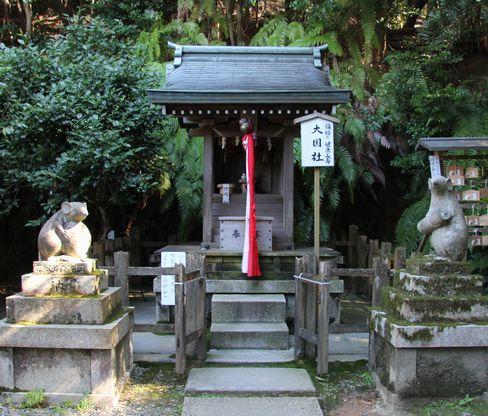 大豊神社の狛ねずみ_H25.10.12撮影
