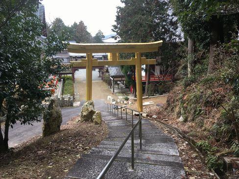 本圀寺・金の鳥居_H31.02.09撮影