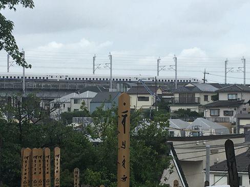 但唱墓から東海道新幹線_R01.06.22撮影