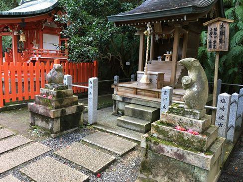 大豊神社・大国社の狛ねずみ__R01.12.27撮影