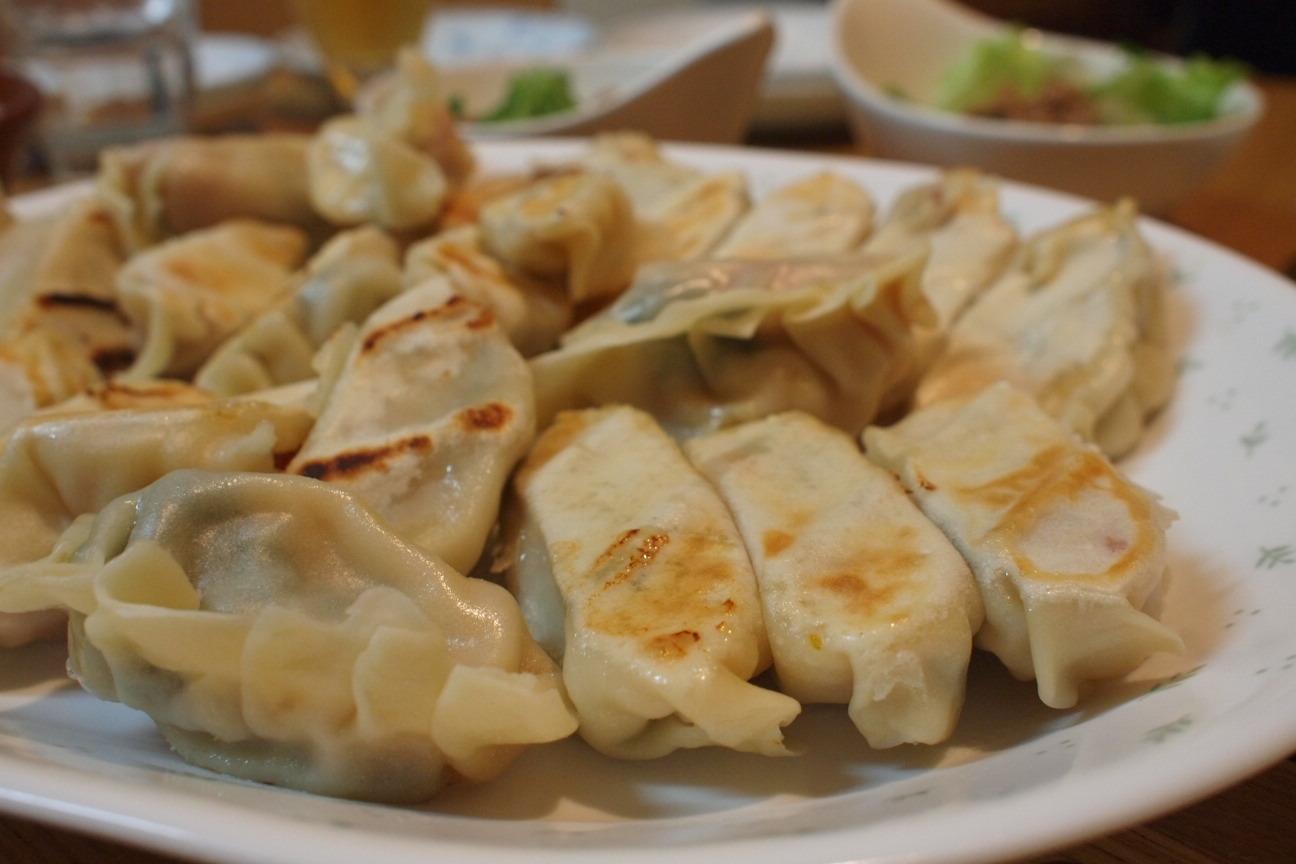 バジル餃子1