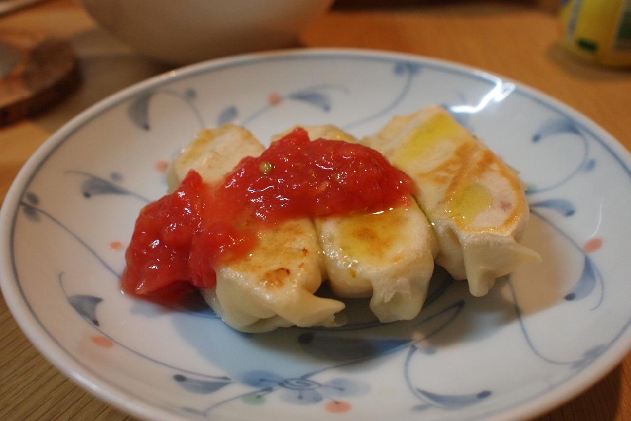 バジル餃子2