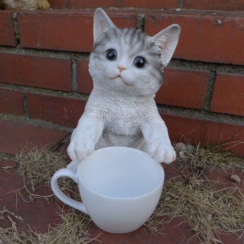 コーヒーを 所望する 猫