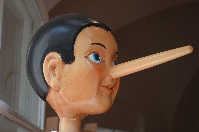 ピノキオ ウソをつく