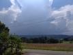 西の積乱雲