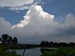 東の積乱雲