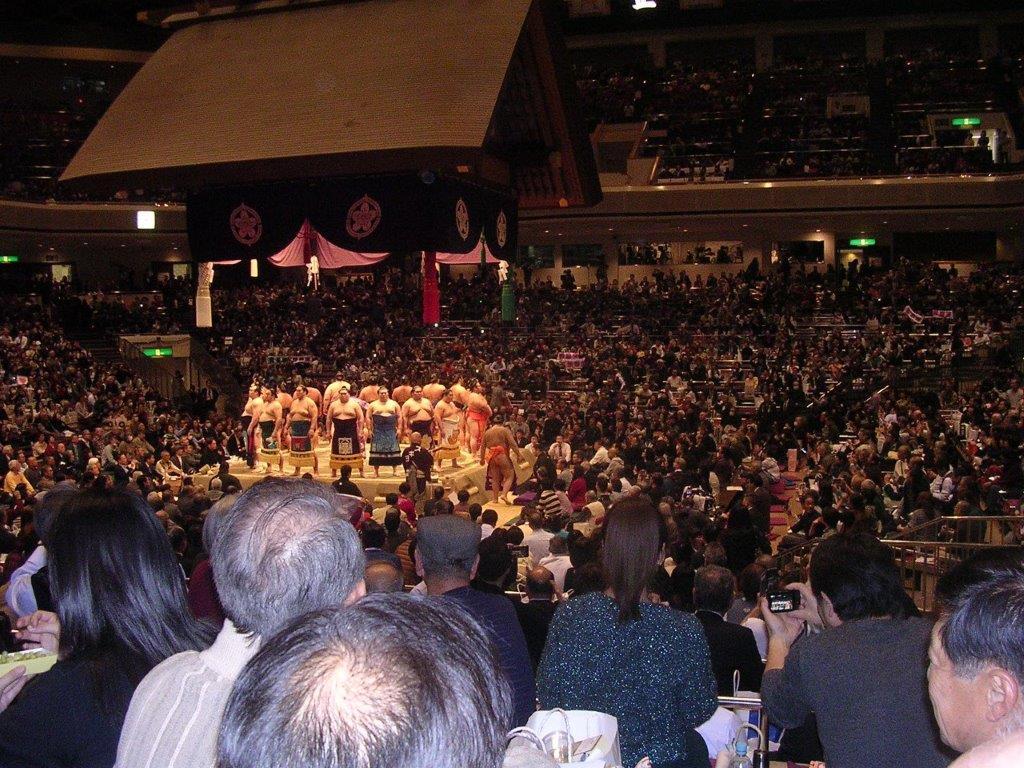大相撲平成31年1月場所3 土俵入り