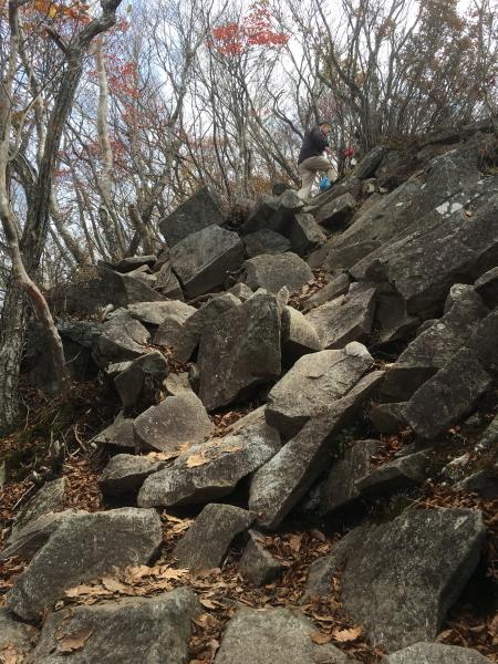 1040 登山道岩