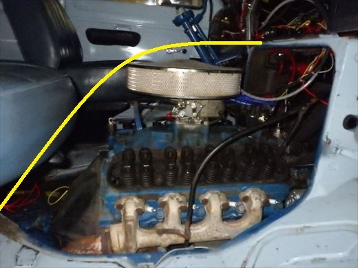 エンジンカバー断熱2