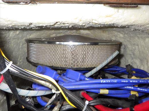 エンジンカバー断熱加工 (5)