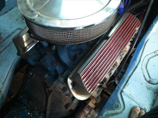 エンジンカバー断熱処理 (8)