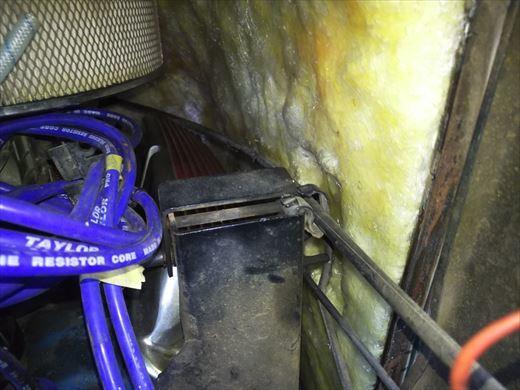 エンジンカバー断熱処理 (13)