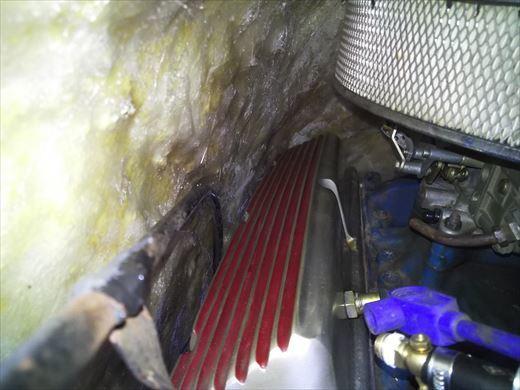 エンジンカバー断熱処理 (14)