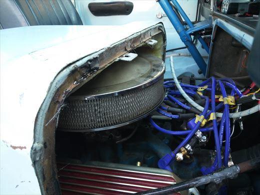 エンジンカバー断熱処理 (16)