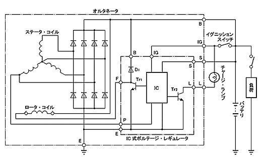チャージランプ配線 (2)