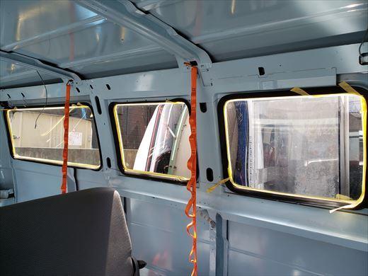 窓の遮熱塗装 (2)