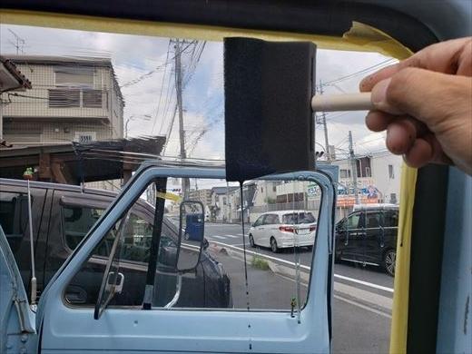 窓の遮熱塗装 (7)