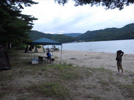 猪苗代湖キャンプ (1)