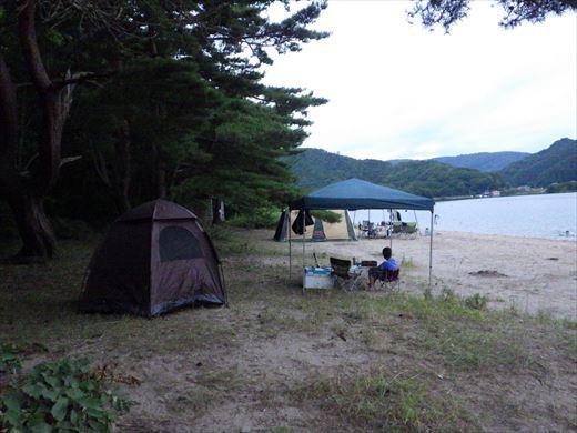猪苗代湖キャンプ (2)