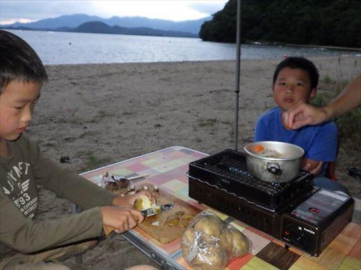 猪苗代湖キャンプ (3)