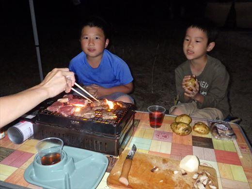 猪苗代湖キャンプ (4)
