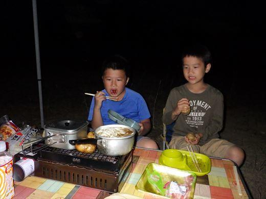 猪苗代湖キャンプ (7)
