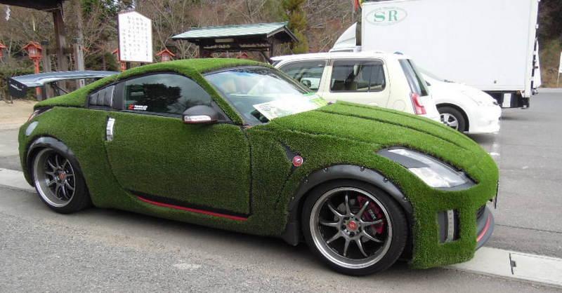 こんな車が?