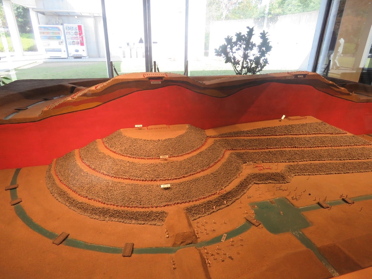 s-巣山古墳模型