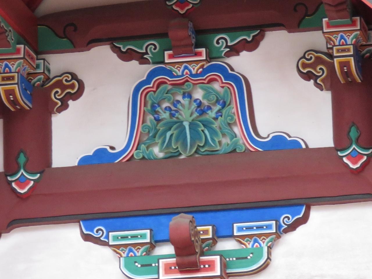 s-蟇股彫刻 太閤桐