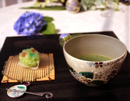 0608お抹茶紫陽花