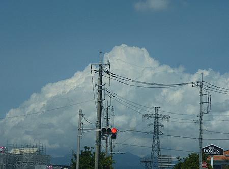 0825昨日の積乱雲