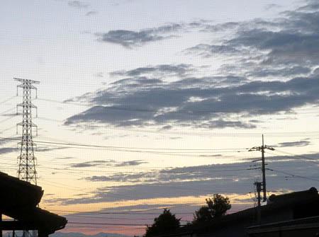0910早朝の雲