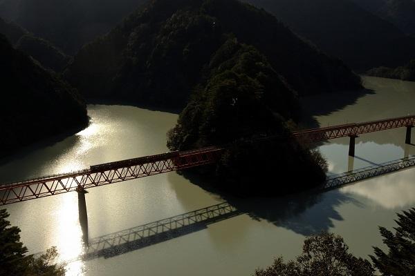 200101奥大井湖上