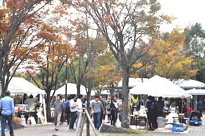大学祭のテント
