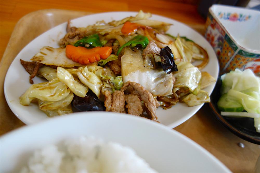 やまよし@小山市西城南 肉野菜炒め