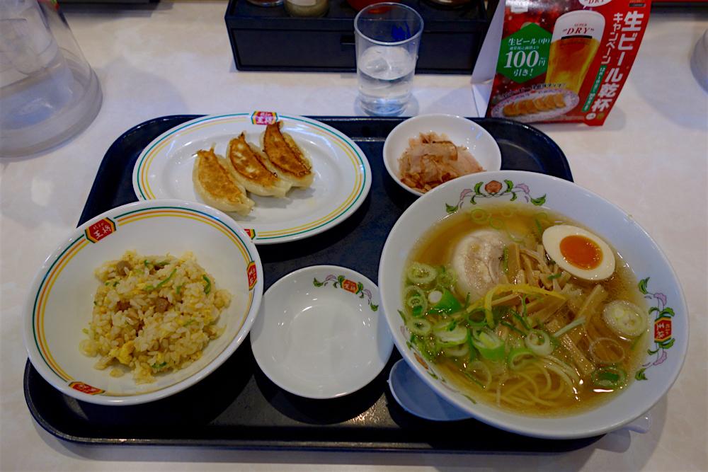 餃子の王将 インターパークビレッジ店 2 ラーメンセットC