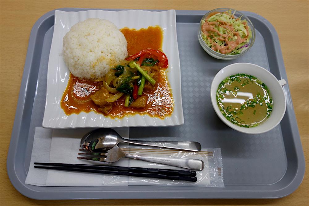 アジアンフュージョン料理ナイエム@鹿沼市睦町 2 ビ パット ポン カレー1